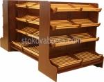 Изработка на дървени стелажи за хляб и хлебни изделия