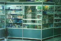 Стелажи за аптеки