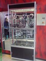 build shelving and cabinets for jewelry store