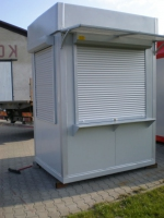 Поръчкова изработка на търговски павилиони от метал