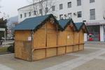 дървен павилион за продажба  до 6кв.м