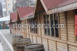 дървени търговски павилиони до 9кв.м