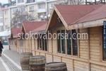 Изработване на дървена търговска сергия по поръчка