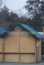 дървен търговски павилион до 4 кв.м по поръчка