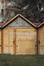 павилион за продажба до 4 кв.м от дърво