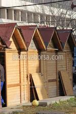 павилион за продажба до 6 кв.м от дърво по поръчка