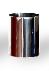 Кош за боклук от неръждаема стомана d180mm