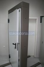 πυρίμαχο σιδερένια πόρτα 1140x2150mm