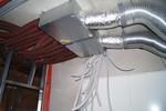 sistema de ventilación de un edificio grande