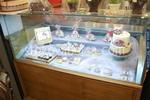 Правоъгълни хладилни витрини за торти по поръчка