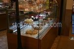 Стъклена правоъгълна хладилна витрина за торти по поръчка