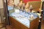 Правоъгълни стъклени хладилни витрини за торти