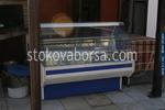 Български хладилни витрини с извито стъкло за торти