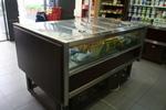 островни хладилни витрини за хранителни стоки по поръчка