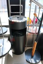 Пепелници за външно поставяне за хотели